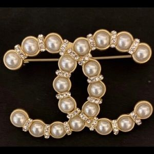 Authentic Coco Chanel (Double C) Brooch